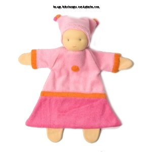 Doudou Polly PEPPA Rose